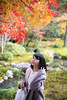 Young woman walking under autumn leaves (Apricot Cafe) Tags: img10039 asianethnicity healthylifestyle japan japaneseethnicity japaneseculture kyoto minikyoto2016 sigma35mmf14dghsmart autumn autumnleaves beautyinnature blackhair casualclothing change charming cheerful enjoying foliage freshness garden happiness hope japanesefallfoliage japanesemaple leaves lifestyles lookingup mapleleaf nature oneperson onlywomen outdoors people photography refreshing river selectivefocus shorthair straighthair threequarterlength tranquility traveldestinations walking woman youngadult kyōtoshi kyōtofu jp
