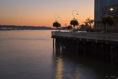 Sunset On The Boardwalk (Clayton Perry Photoworks) Tags: vancouver bc canada fall autumn explorebc explorecanada newwestminster sunset fraserriver