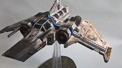 xiphon strike fighter (whitewashcommissions) Tags: forgeworld xiphon games gamesworkshop gw miniature paintingminiatures hardforheresy worldeaters angron airbrush pigments oilwash decals 30k warhammer warhammer40k warhammer30k horusheresy