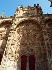 P9060584 (simonrwilkinson) Tags: salamanca castileandleón spain newcathedral doorway door portal west