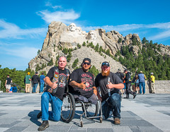 2 Josh and friends at Mt. Rushmore