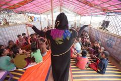 Our child-friendly space at Kutupalong, Cox's Bazar. (bracworld) Tags: coxs bazar bangladesh myanmar rakhine humanitarian crisis aid child protection childcare healthcare basichealthcare