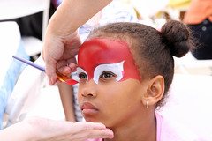 Facepaint (Wiley C) Tags: portrait young girl birthday party torrance california july2017