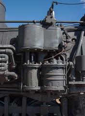 K-27 details (std70040) Tags: k27 denverriogrande steam steamlocomotive steamengine cumbresandtoltec cumbrestoltec denverandriogrande baldwin baldwinlocomotiveworks airpump