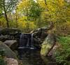 The Fall (CVerwaal) Tags: centralpark northwoods theloch waterfalls newyork ny usa ravine fujifilmx100t