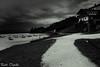 lago di Santa Croce (paolotrapella) Tags: lago santa croce biancoenero black white sky clouds italy