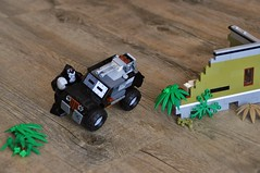 Jungle 2 (Daniel V 75) Tags: car voiture lego ferrari porsche speed wallpaper base tuning star wars moc photo sport berline 4x4 luxe paysage art creation