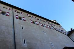 Hohenwerfen Castle (Ridders) Tags: austria hohenwerfencastle hohenwerfen castle schloss whereeaglesdare architecture archbishopgebhardofsalzburg