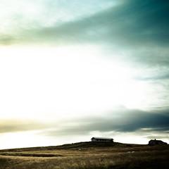 Icelandic landscape (Zeeyolq Photography) Tags: house iceland sky country landscape highkey islande is