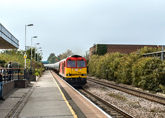 Burton-upon-Trent (ricsrailpics) Tags: uk staffordshire burtonupontrent diesel class60 dbschenker oiltrain 2017