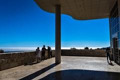 The Fog (agruebl) Tags: thefog losangeles la gettycenter terrace terrasse vue ausblick nebel view afternoonsun contrejour gegenlicht nikon nikond750 california usa travel reise sky himmel ciel bruiallrd blue blau