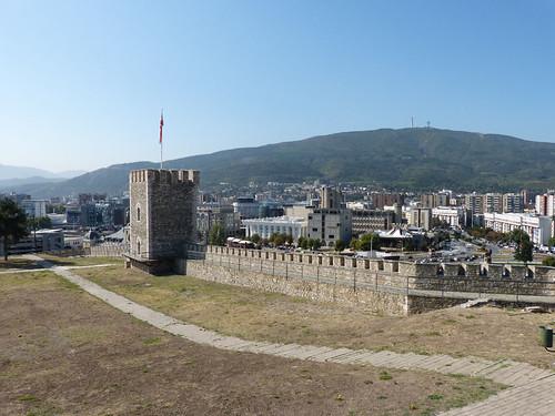 Szkopje, Kale-erőd
