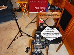 DSCN4074A-Macro-Tabasco-Bottle-SETUP-(900) (PryanksterDave (Dave Price)) Tags: 2017 strobist lightingessentials macro macromonday souvenir sidelit setup
