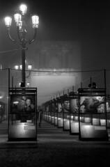 Photo exhibition - Turin - December 2006 (cava961) Tags: turin torino analogue analogico monocromo monochrome bianconero bw