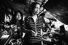 With Grandma (Meljoe San Diego) Tags: meljoesandiego ricoh ricohgr streetphotography streetlife candid motionblur highcontrast monochrome philippines