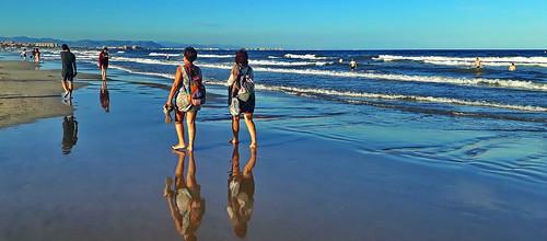 Late summer beachlife