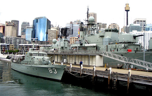Sep 2004 - Australian National Maritime Museum RAN ships static display, Darling Harbour, Sydney, New South Wales, Australia