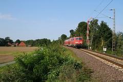 111 118 (Drehstromkutscher) Tags: db deutsche bahn bundesbahn br baureihe 111 eisenbahn zug regionalbahn rb natobahn train trainspotting trains railway railfanning railways railroad