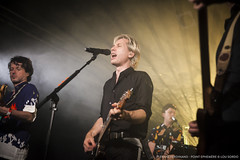 Franz Ferdinand - Point Ephemère (Lou Sordo) Tags: franz ferdinand paris concert secret point ephemère rock always ascending scotland music rocknroll lou sordo alex kapranos bob hardy paul thomson