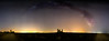 Láctea en La Caudilla (chuscordeiro) Tags: caudilla estrellas cielo sky stars vialactea milkyway summer verano toledo españa noche night longexposure largaexposición panorama canon1dxmarkii color luz castillo ruina castle