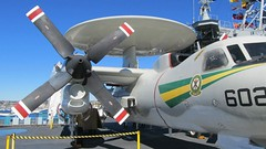 "Grumman E-2C Hawkeye 2 • <a style=""font-size:0.8em;"" href=""http://www.flickr.com/photos/81723459@N04/26182700109/"" target=""_blank"">View on Flickr</a>"