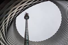 All the fun of the fair (Peter Hungerford) Tags: fair ride basel free fall tower