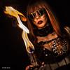 IMG_5901 (DidierBonin) Tags: halloween fire feu glasses reflet hot woman shooting portrait