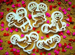 Funny Couple Cookie Cutter (mywowstuff) Tags: gifts gadgets cool family friends funny shopping men women kids home