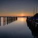 Twilight (Sunset Snapper) Tags: twilight sunset boshamquay westsussex southcoast uk tranquil peaceful calm still boats boathouse quay steps channel post filters lee littlestopper nd grad longexposure nikon d810 2470mm february 2017 sunsetsnapper