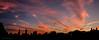 Gratis Light Show over Manhattan (CVerwaal) Tags: centralpark greatlawn skyline sunset newyork ny usa fujifilmx100t panorama