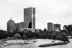 Boston MA. (BW Fine Art) Tags: boston massachusetts charles river esplanade thehancock johnhancocktower downtowncrossing cambridge monochrome noiretblanche blackandwhite leica m10 summicron75mmapoasph boats shadow