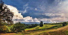 IMG_4297-01Ptzl1scTBbLGER2 (ultravivid imaging) Tags: ultravividimaging ultra vivid imaging ultravivid colorful canon canon5dmk2 clouds stormclouds sunsetclouds fields farm rural vista scenic autumn evening pennsylvania pa panoramic sky tree