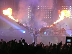 Rammstein Concert Dresden 2010 (size10x15) Tags: rammstein dresden konzert concert musik lindemann fire firework feuerwerk