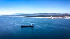Ship, Port-la-Nouvelle, France (BadGunman) Tags: blue water mediterranee sea france portlanouvelle tanker ship boat ten