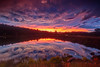Glenshire Pond Sunset September 12 (Jeffrey Sullivan) Tags: glenshire pond storm sunset truckee sierranevada california usa landscape nature travel real estate photography canon eos 6d photo copyright 2017 jeff sullivan september weather hdr photomatix