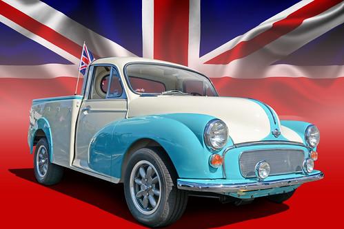 Union Jack - 1965 Morris Minor