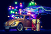 Light ! Camera ! Action ! (imranshams) Tags: vw beetle volkswagen diecast 112 canon 24105 astounding image scale model 1 12
