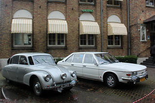 1938 Tatra 87 and 1978 Tatra 613 'Chromka'