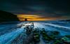 The reef (marcolemos71) Tags: seascape sea water portuguesecoast atlanticocean rocks stones lowtide sky clouds dusk longexposure leefilters westcoast thereef marcolemos