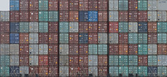 A1 (aleadam) Tags: almost full container cargo ship stack incomplete corner a1 7dwf ctt