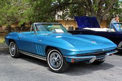 1964-66 Chevrolet Corvette (StevenM_61) Tags: carshow car automobile chevrolet chevy corvette convertible lecanto florida