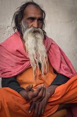 Rajasthan - Pushkar - Outskirts Holy Man-10