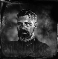 Romain ([Eric OLIVIER]) Tags: wetplate collodion process largeformat alternativ portrait noiretblanc blackandwhite filmisnotdead photography