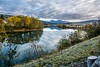 Autumn in Røssvoll (Einar Schioth) Tags: røssvoll autumncolors autumn river ranelva trees tree water sky day canon clouds cloud coast shore sigma sigma2470 vividstriking nationalgeographic ngc norway norge nature nordland landscape lake photo picture outdoor einarschioth