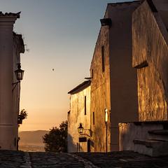 Monsaraz Sunset (L I C H T B I L D E R) Tags: portugal evora monsaraz ferragudo village dorf view summer sommer alentejo landscape landschaft himmel sky sunset sonnenuntergang licht light bluehour blauestunde ngc
