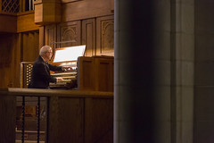 John Rose's 40 Year Celebration (trincoll) Tags: trinitycollege hartford connecticut chapel joannebergersweeney president music choir choirdirector organist