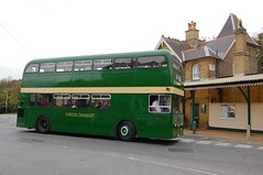 XF3 at Shanklin (Renown) Tags: bus doubledecker daimler fleetline parkroyal londontransport xfclass xf3 preserved preservation heritage restored londoncountry isleofwight br islandline shanklin station southern cuv53c