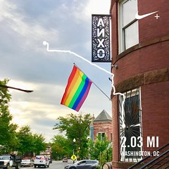 #activetransportation #HavePride365 #MostInclusiveCity @anxocider #AsDCgoesSoGoesTheNation ❤️️‍🌈🌎