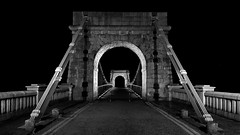 Light's on.jpg (___INFINITY___) Tags: 6d aberdeen bw godoxad360 wellingtonsuspensionbridge architect architecture building canon canon1740f4 darrenwright dazza1040 eos fineart flash infinity light lightpainting night scotland strobist metal