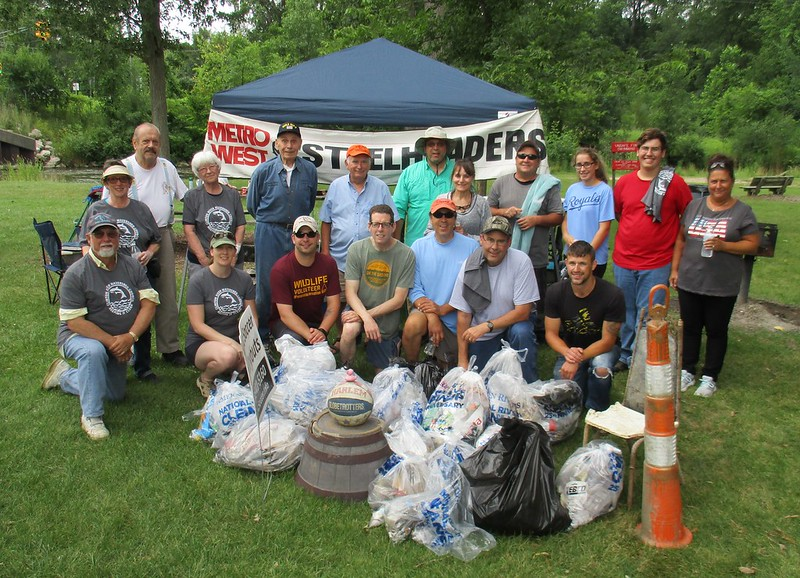 2017 07 15 Clinton River Clean Up